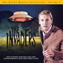 The Quinn Martin Collection Vol.2 - The Invaders: Limited Edition - Duane Tatro, Richard Markowitz, Irving Gertz, Dominic Frontiere, Sidney Cutner - 25/10/2019
