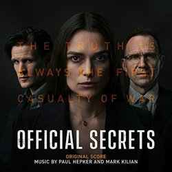Official Secrets Soundtrack (	Paul Hepker, Mark Kilian	) - CD-Cover