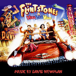 The Flintstones in Viva Rock Vegas Soundtrack (David Newman) - CD cover