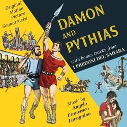 Damon and Pythias / I Predoni di Sahara サウンドトラック (Angelo Francesco Lavagnino) - CDカバー