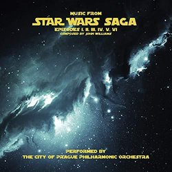 Music From Star Wars Saga Soundtrack (John Williams) - CD cover