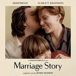 Marriage Story Soundtrack (Randy Newman) - CD cover