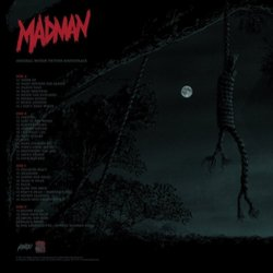 Madman Soundtrack (Stephen Horelick) - CD Back cover