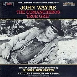 The Films of John Wayne Soundtrack (Elmer Bernstein) - Carátula