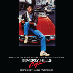 Beverly Hills Cop Soundtrack (Harold Faltermeyer) - CD cover
