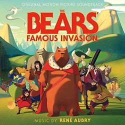 The Bear's Famous Invasion Soundtrack (René Aubry) - CD cover