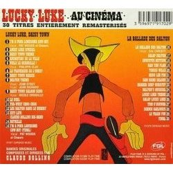 Lucky Luke au Cinéma Soundtrack (Claude Bolling) - CD Back cover