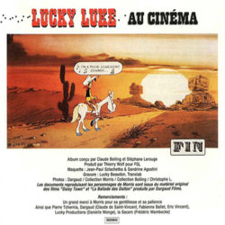 Lucky Luke au Cinéma Soundtrack (Claude Bolling) - cd-inlay