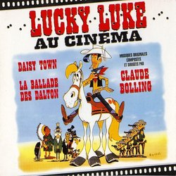 Lucky Luke au Cinéma Soundtrack (Claude Bolling) - CD cover