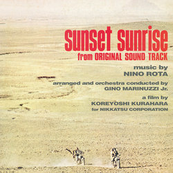 Sunset Sunrise Bande Originale (Nino Rota) - Pochettes de CD
