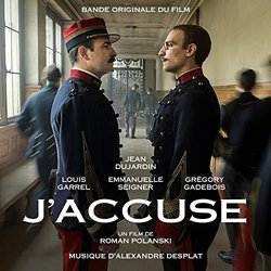 J'accuse Soundtrack (Alexandre Desplat) - CD cover