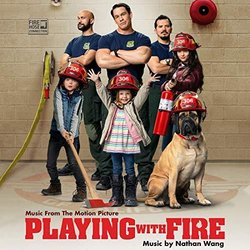 Playing With Fire Soundtrack (Various Artists, Nathan Wang) - CD cover