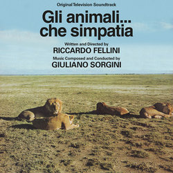 Zoo Folle / Gli animali… che simpatia Soundtrack (Giuliano Sorgini) - CD cover