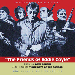 The Friends of Eddie Coyle / 3 Days of the Condor Soundtrack (Dave Grusin) - CD-Cover