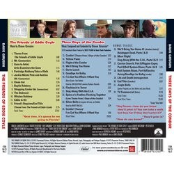The Friends of Eddie Coyle / 3 Days of the Condor Soundtrack (Dave Grusin) - CD-Rückdeckel