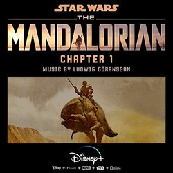The Mandalorian: Chapter 1 Trilha sonora (Ludwig Göransson) - capa de CD