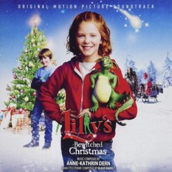 Lilly's Bewitched Christmas Soundtrack (Anne-Kathrin Dern) - CD cover