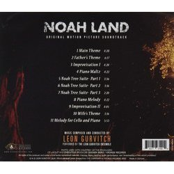 Noah Land Soundtrack (Leon Gurvitch) - CD Achterzijde