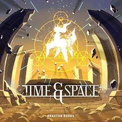 Time & Space Soundtrack (Braxton Burks) - CD cover