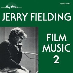 Jerry Fielding - Film Music 2 Soundtrack (Jerry Fielding) - CD cover