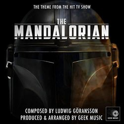 The Mandalorian: The Mandalorian Theme - Chapter 1 Soundtrack (Ludwig Göransson) - CD cover