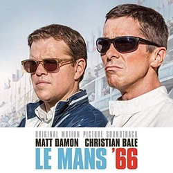 Le Mans '66 Soundtrack (Various Artists, Marco Beltrami, Buck Sanders) - CD-Cover