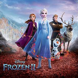 Frozen 2 Soundtrack (Kristen Anderson-Lopez, Christophe Beck, Robert Lopez) - CD cover
