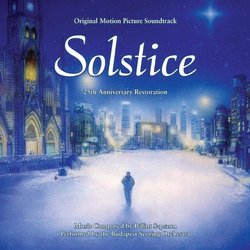 Solstice: A Christmas Story Soundtrack (Bálint Sapszon) - CD cover