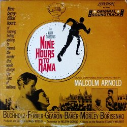 Nine Hours To Rama Soundtrack (Malcolm Arnold) - CD cover