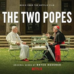 The Two Popes Soundtrack (Bryce Dessner) - CD cover