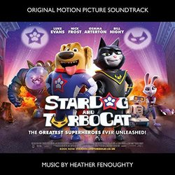 StarDog and TurboCat Soundtrack (Various Artists, Heather Fenoughty) - Carátula