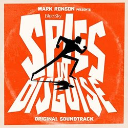 Spies in Disguise Trilha sonora (Various Artists) - capa de CD