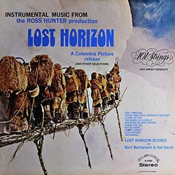 Instrumental Music from the Ross Hunter Production Lost Horizon Soundtrack (Burt Bacharach, Hal David, 101 Strings Orchestra) - CD-Cover