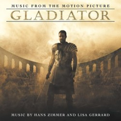 Gladiator Soundtrack (Lisa Gerrard, Hans Zimmer) - CD cover