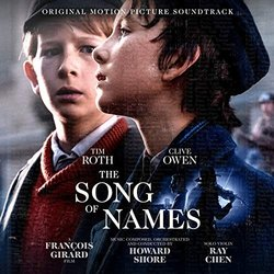 The Song of Names Soundtrack (Various Artists, Howard Shore) - CD cover