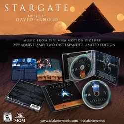 Stargate Soundtrack (David Arnold) - cd-carátula