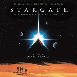 Stargate Soundtrack (David Arnold) - Carátula