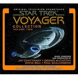 Star Trek Voyager Collection: Volume Two Soundtrack (Paul Baillargeon, David Bell, Jay Chattaway, Dennis McCarthy) - CD cover