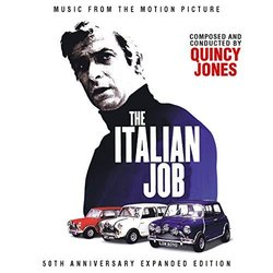 The Italian Job Soundtrack (Quincy Jones) - CD cover