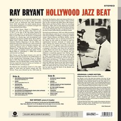 Ray Bryant – Hollywood Jazz Beat Bande Originale (Various Artists, Ray Bryant) - CD Arrière