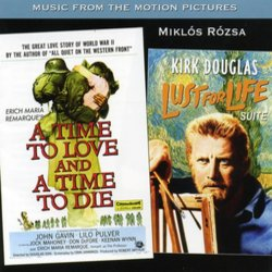A Time to Love and a Time to Die / Lust for Life Suite 聲帶 (Miklós Rózsa) - CD封面