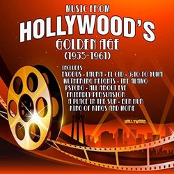Music From Hollywood's Golden Age 1935-1961 Soundtrack (Various Artists) - CD cover