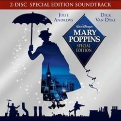 Mary Poppins Trilha sonora (Richard M. Sherman, Robert B. Sherman) - capa de CD