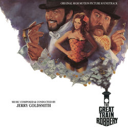 The Great Train Robbery Soundtrack (Jerry Goldsmith) - CD cover