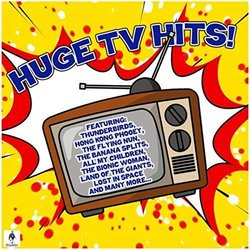 Huge TV Hits! Soundtrack (Various Artists, The TV Hits Band) - CD cover