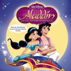 Aladdin Colonna sonora (Various Artists, Howard Ashman, Alan Menken, Tim Rice) - Copertina del CD