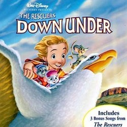The Rescuers Down Under Colonna sonora (Bruce Broughton) - Copertina del CD