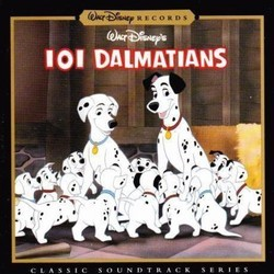101 Dalmatians Soundtrack (Various Artists, George Bruns) - Carátula