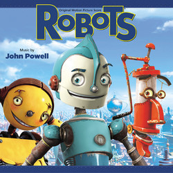 Robots Soundtrack (John Powell) - CD-Cover