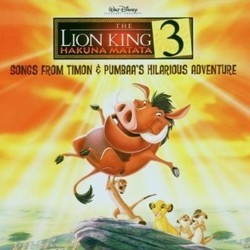 The Lion King 3 - Hakuna Matata Soundtrack (Various Artists) - CD cover